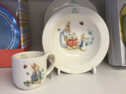 Peter Rabbit Cup & Bowl