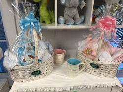 Beautifully Wrapped Gift Baskets