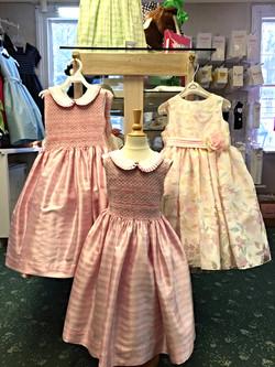 Pale Pink Silk Dress