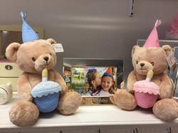 Birthday Bears & Silver Frame