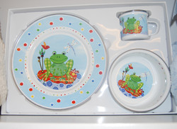 Frog Plate Set
