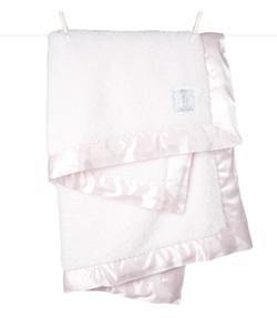 Chenille Pink Blanket