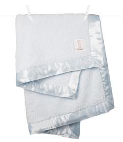 Chenille Blue Blanket