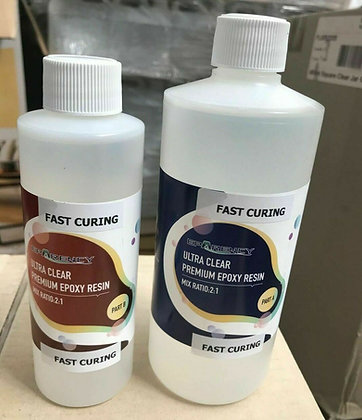 Eparency fast cure ultra clear epoxy resin