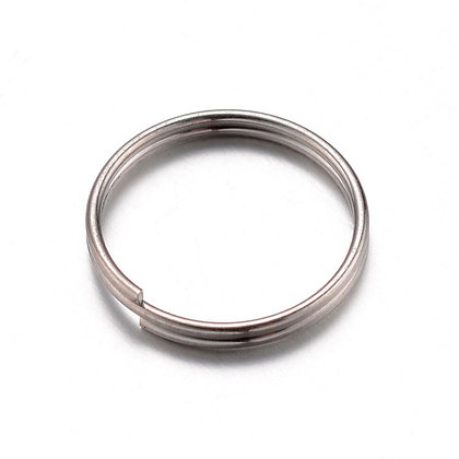 Stainless Steel split Rings Cheap Jewellery Making Supplies Necklace Earrings