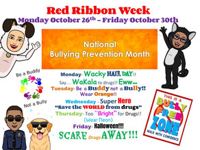 Red Ribbon Week Announcement
