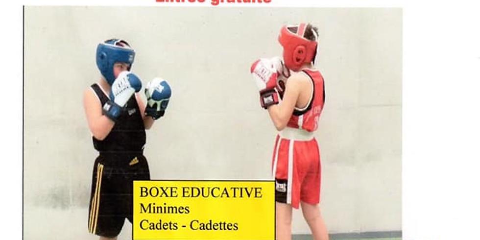 Championnat régional BFC boxe éducative (minime-cadet)