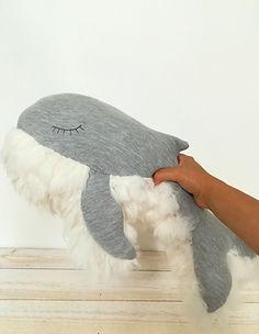 Doudou baleine All in sweet