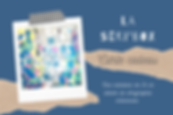 La séri'box, carte cadeau de l'atelier de sérigraphie à Confrançon. Par Lucie Pontvianne.