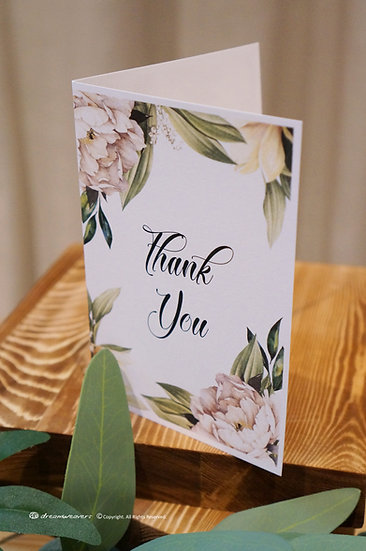 Element of Emotions Thank You Card