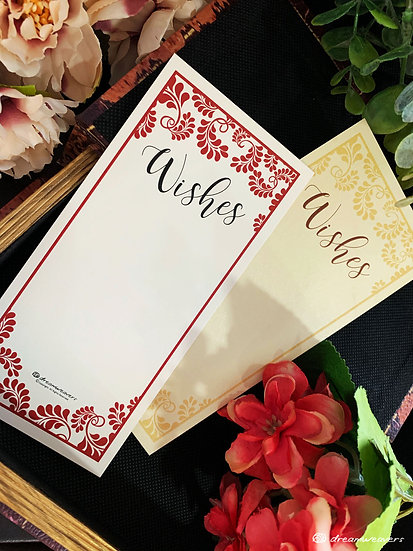 Splendor Love Wishes Card