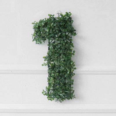 Artificial Leaves Number Display