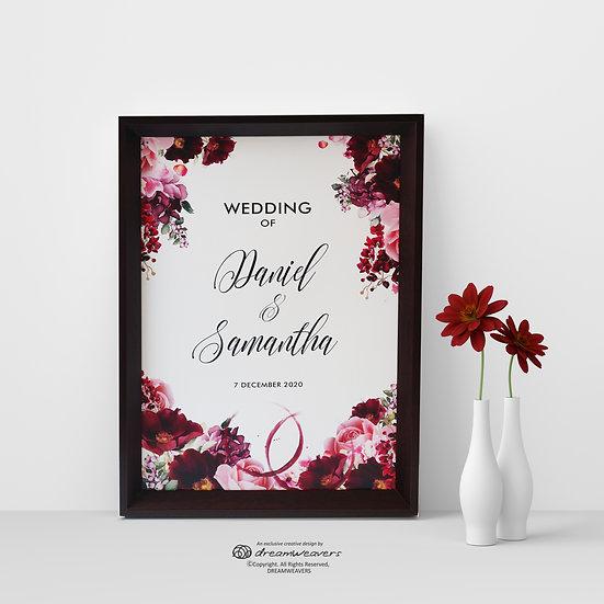 Wine & Dine Welcome Signage