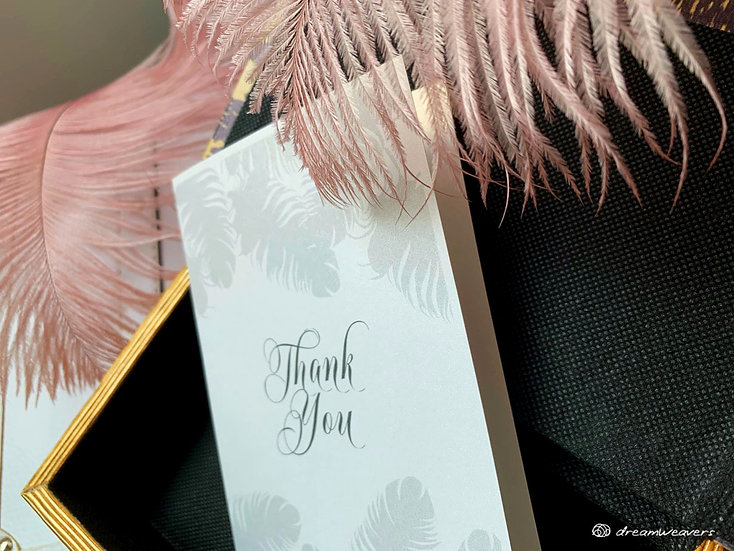 Fine Quills Thank You Card
