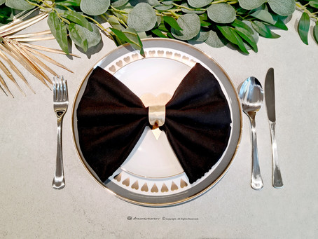 A Perfect Bow! Napkin Folding
