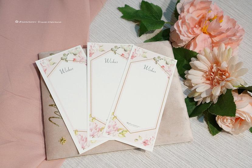 Rose Quartz Wishes Card