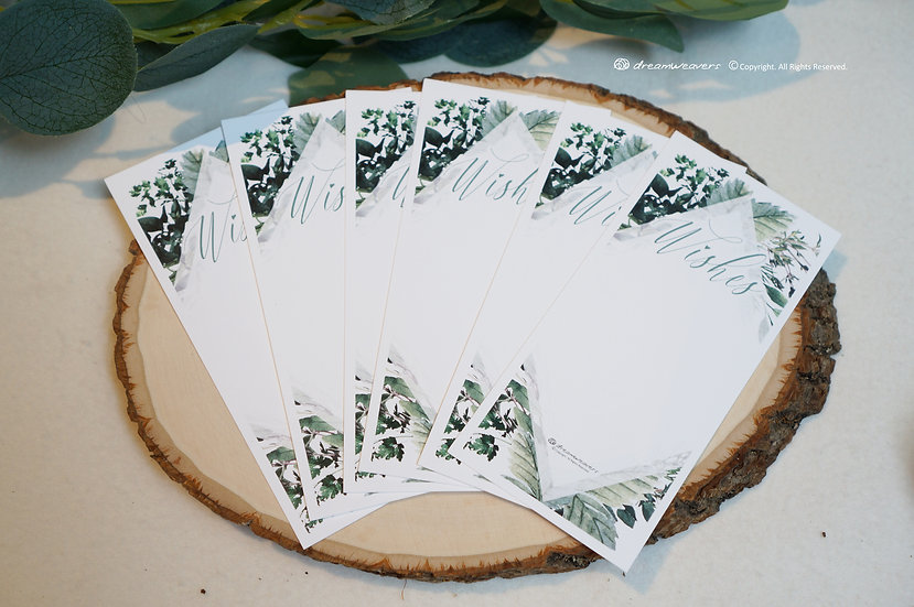 Bliss Thyme Wishes Card