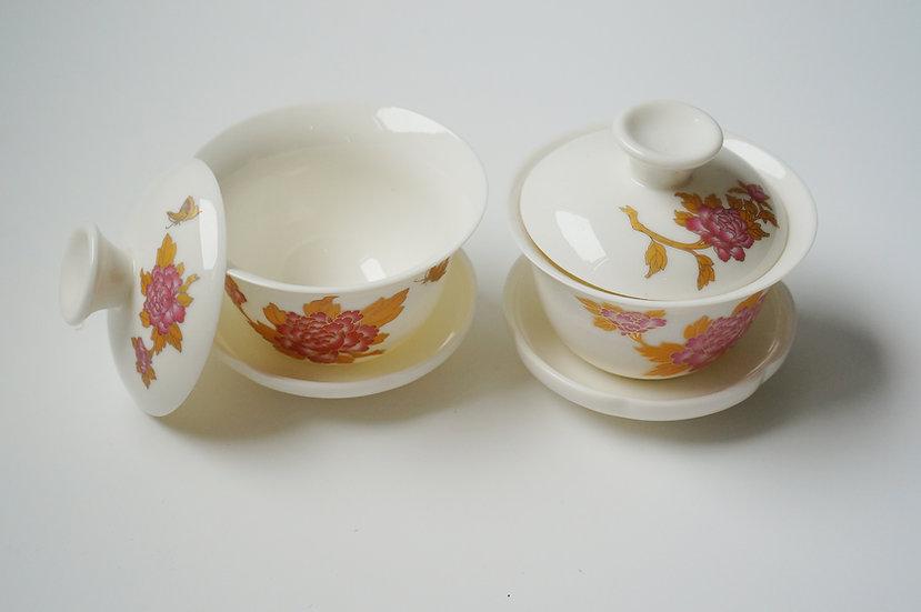Peony Tea Cup