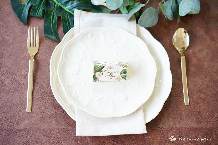 Secret Garden Vintage Ceramic Plate