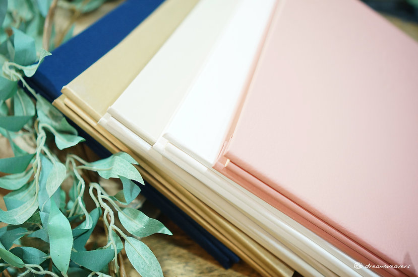 Secret Garden Postbound Guestbook