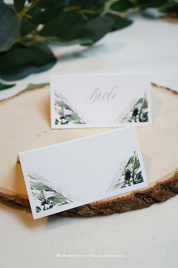 Bliss Thyme Place Card (Blank)