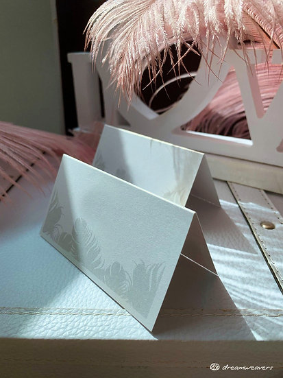 Fine Quills Place Card (Blank)