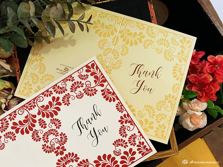 Splendor Love Thank You Card