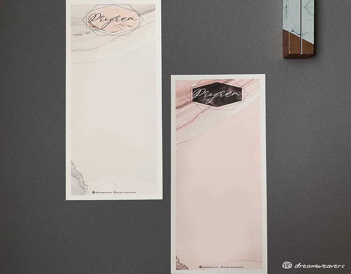 Marble Rosa Program Panel (Blank)