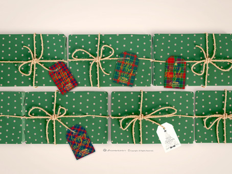 A Perfectly Plaid Christmas Gift Tags