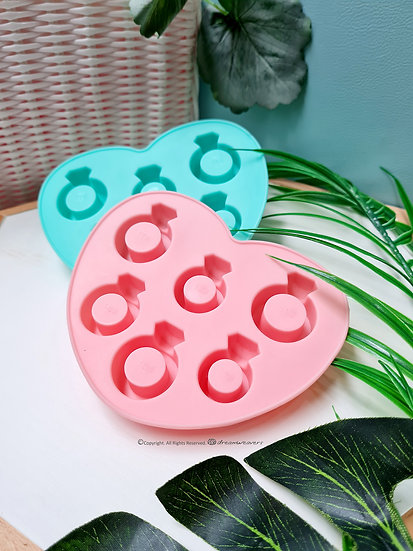 Diamond Ring Shaped Silicon Tray