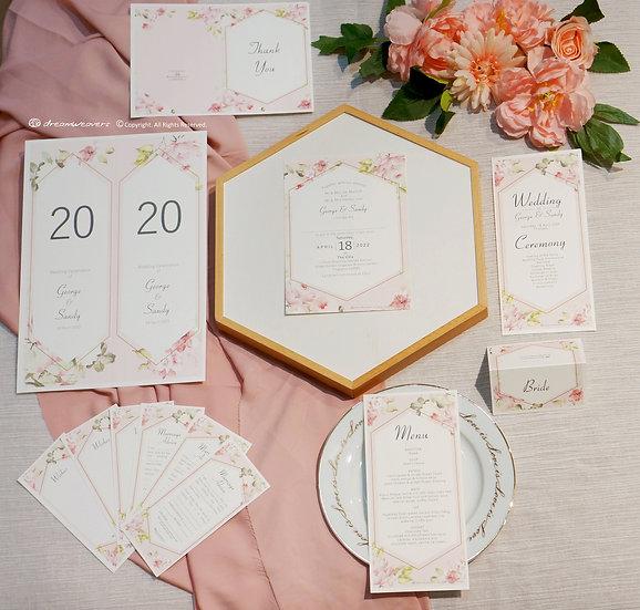 Rose Quartz Stationery Suites [Premium Set]