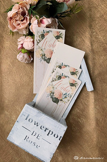 Magnolia Flourish Wishes Card