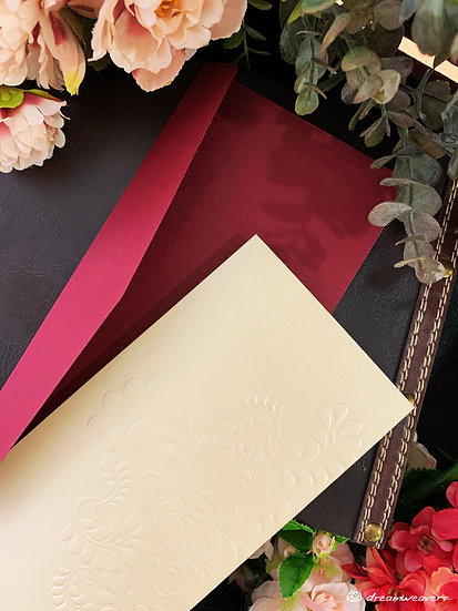 Splendor Love Invitation Card (Blank)