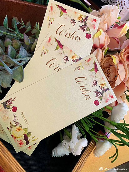 Florie Rouge Wishes Card