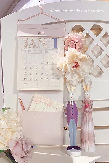 Dreamweavers 2021 Hanging Calendar New Year Gift