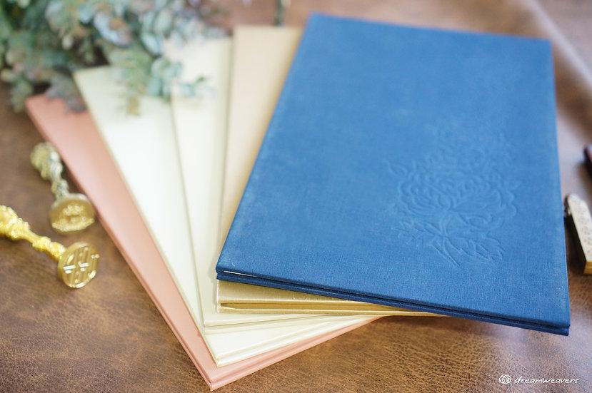 Secret Garden Accordion Guestbook