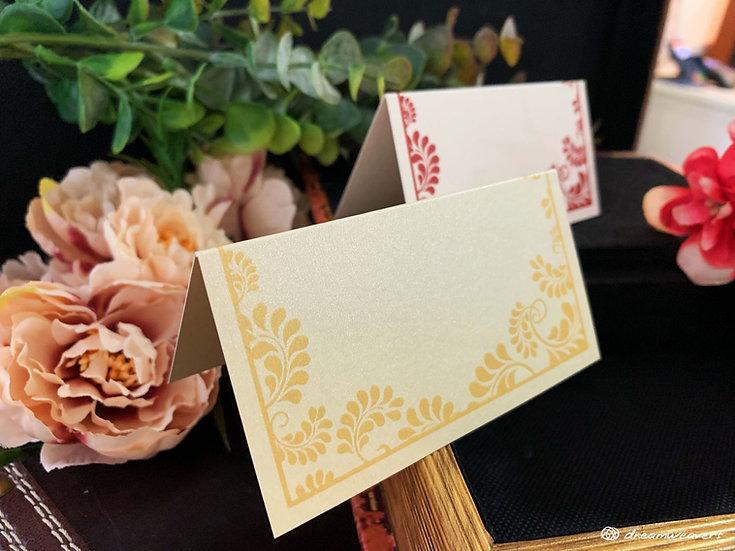 Splendor Love Place Card (Blank)