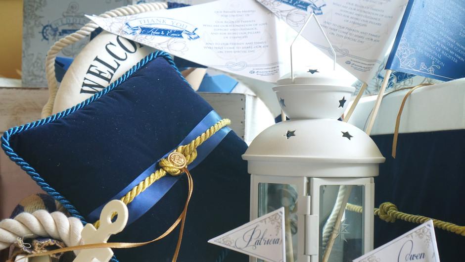 Ahoy Matey! A Nautical Wedding Inspiration