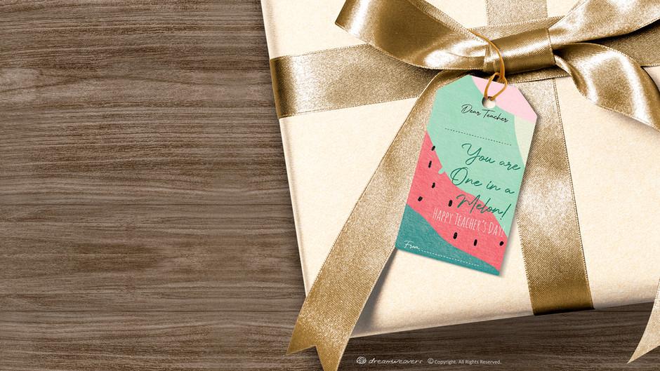 Free Teacher's Day Printable Gift Tags