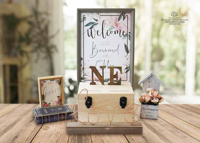 [Country] Reception & Display Prop Set