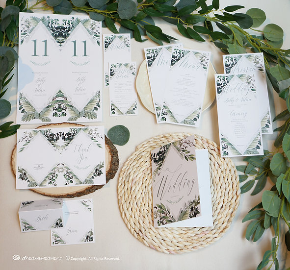 Bliss Thyme Stationery Suites [Premium Set]