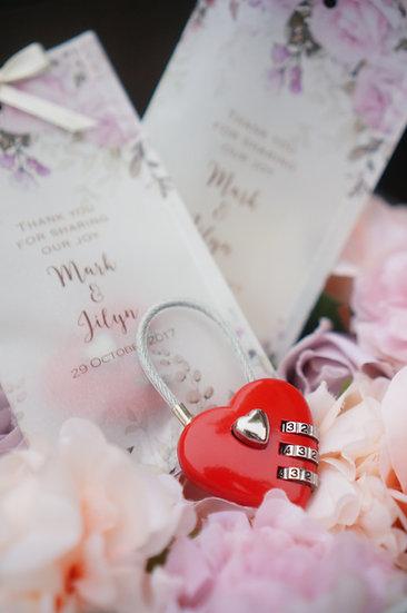 Red Heart Lock
