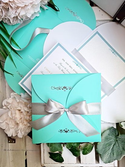 TIMELESS BOW Invitation Card [10sets]