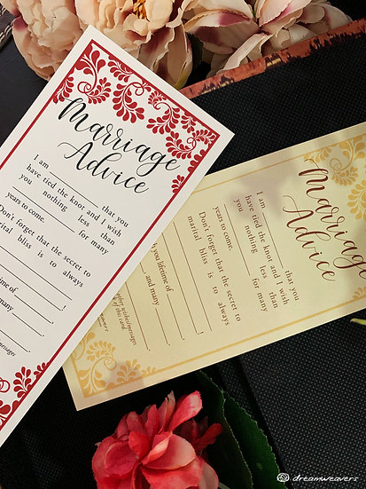 Splendor Love Marriage Advice Card