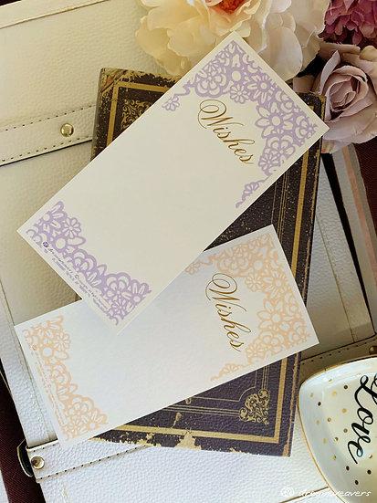 Garden Floral Wishes Card