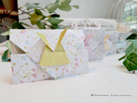 Easter Bunny Origami Envelope