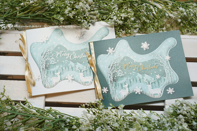 WINTER WONDERLAND Christmas Greeting Card
