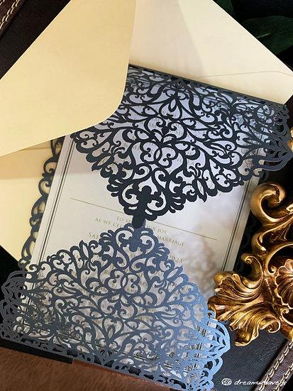 Victorian Invitation Card (Blank)