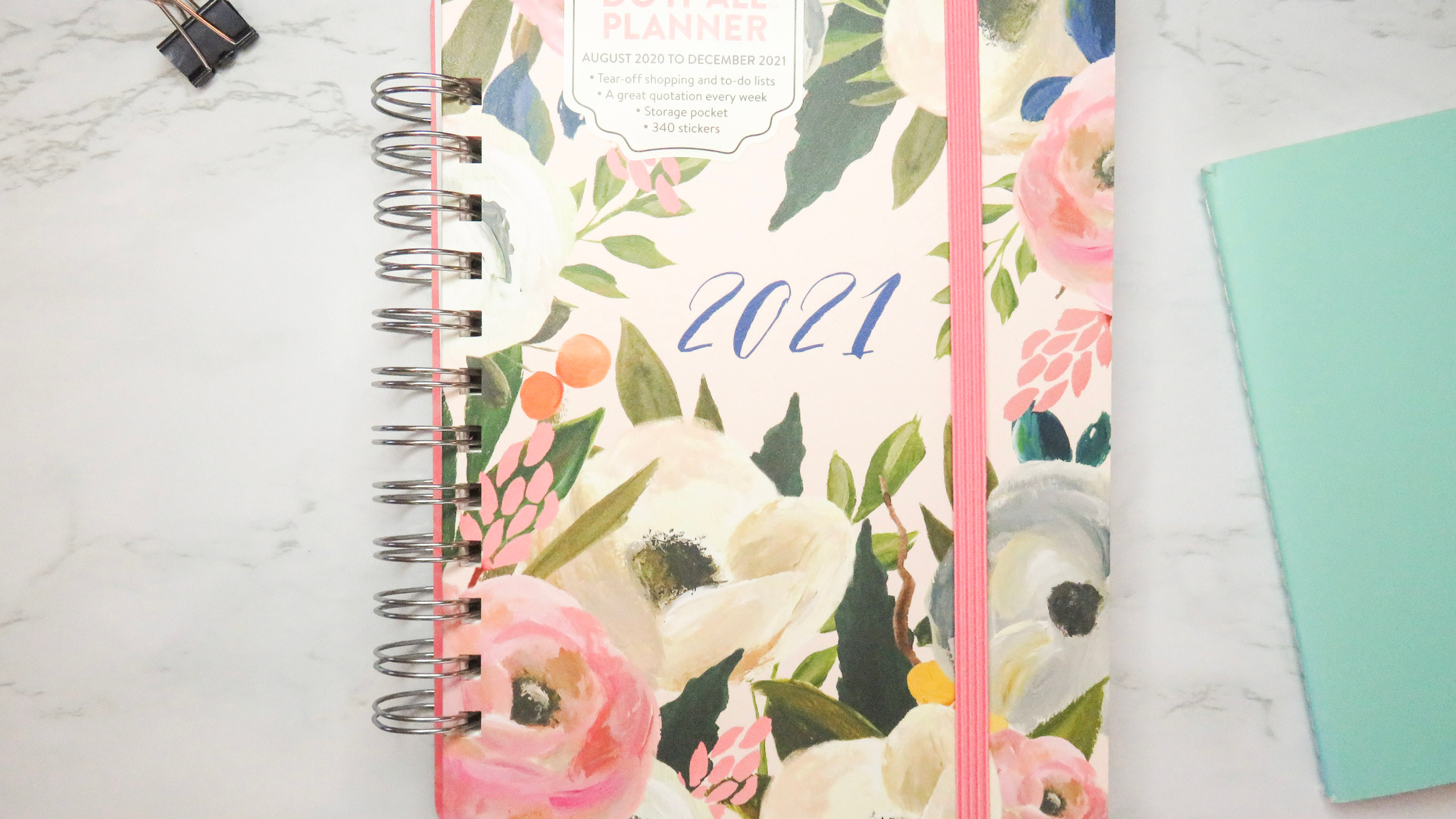 2021 Do it All Weekly Planner in Bella Flora