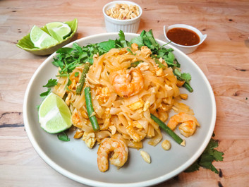 Not-So Thai Shrimp Pad Thai